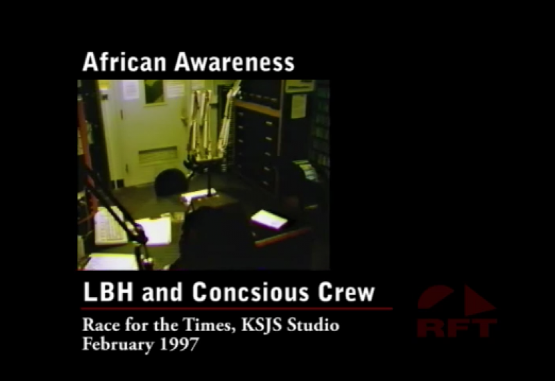 RFT Afrikan Awareness 1997